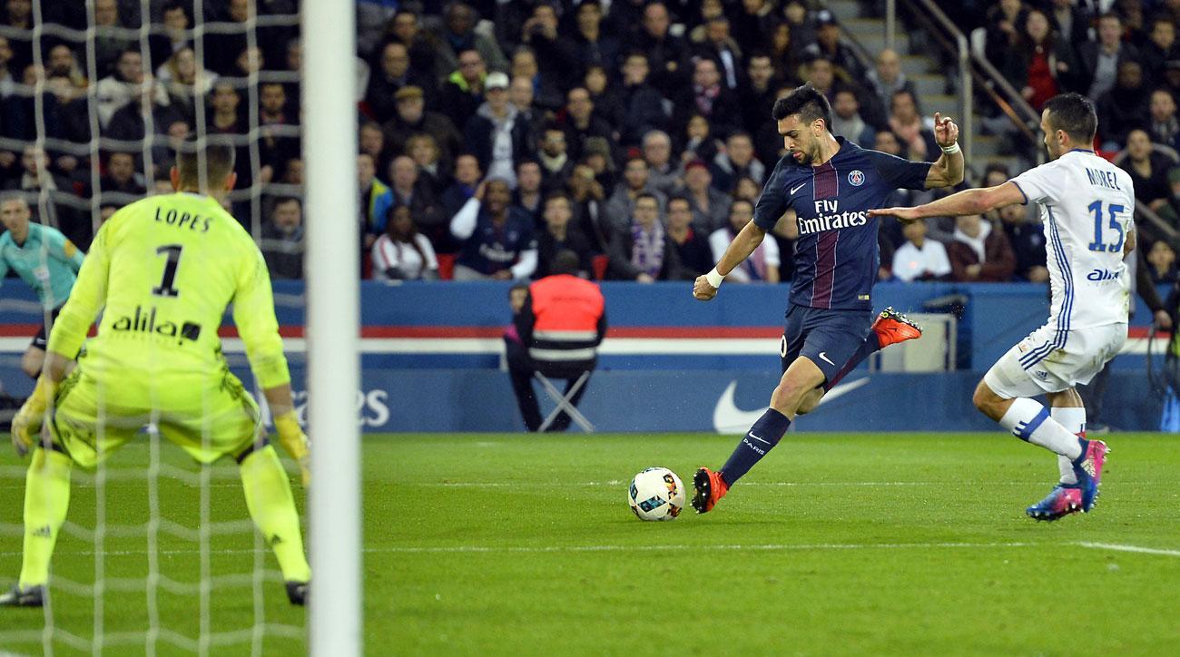 PSG's Javier Pastore starred vs. Lyon