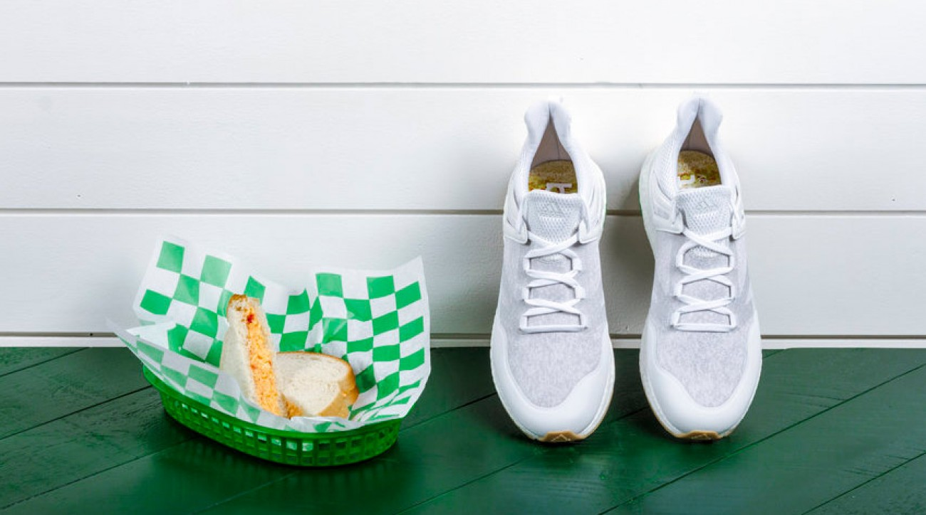 Adidas Golf is introducing a limited edition shoe as an homage to Augusta National's pimento cheese sandwich.