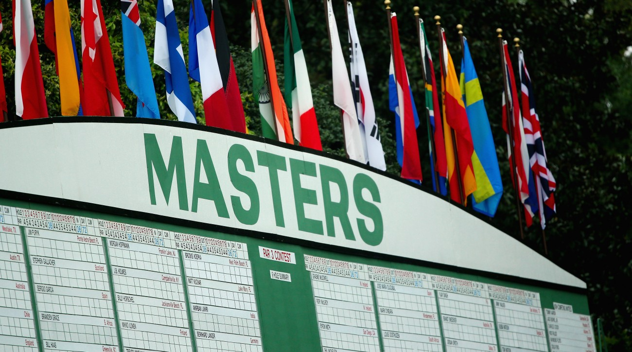Fans who cannot make it to Augusta National this year can watch the coverage on ESPN, CBS or Masters.com.