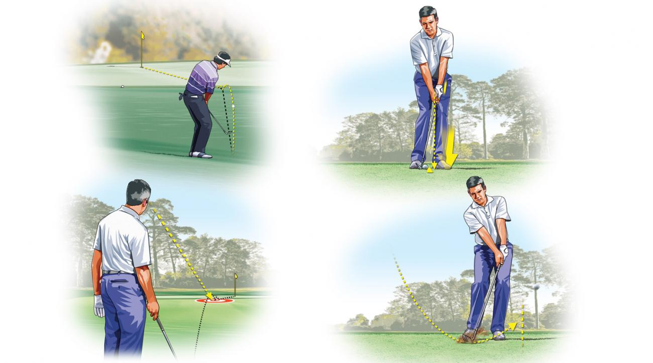Larry Mize knows a thing or two about chipping.