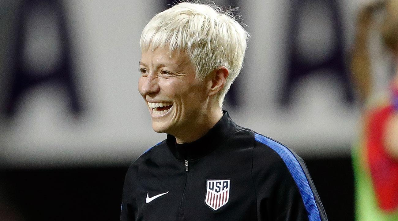 Megan Rapinoe is back with the USWNT
