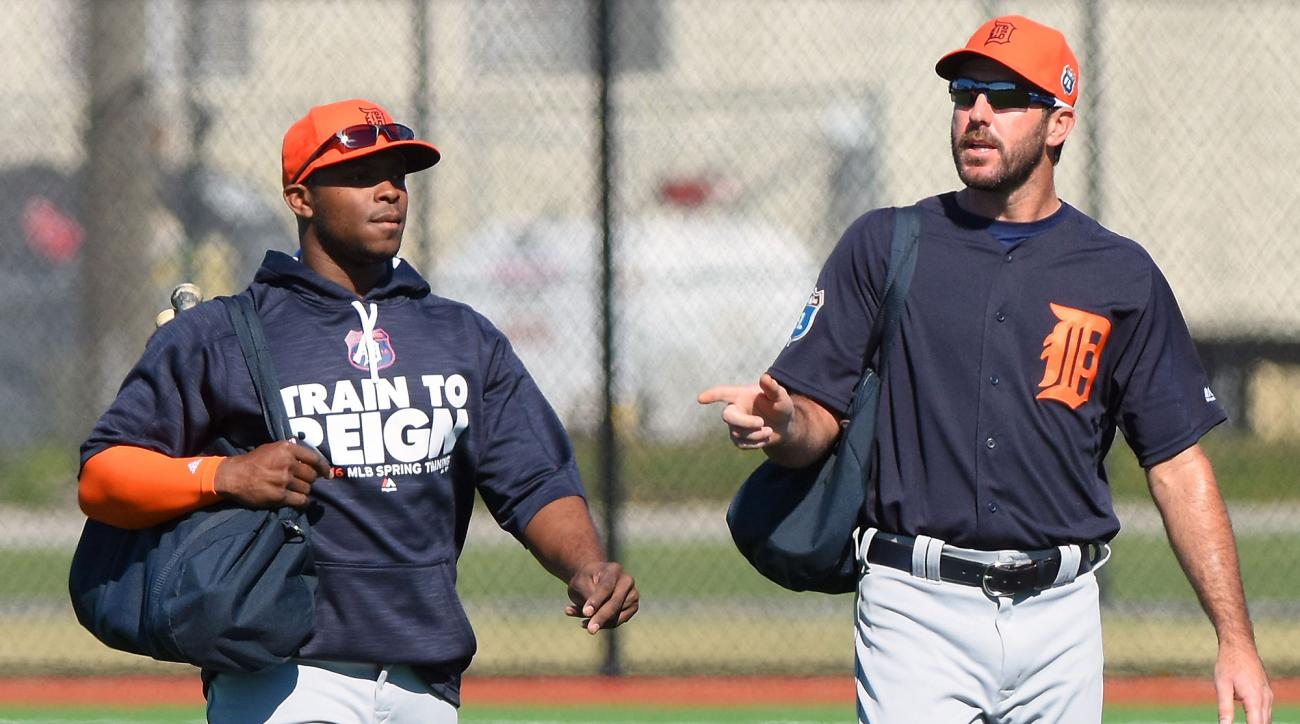 Justin Upton and Justin Verlander, Detroit Tigers