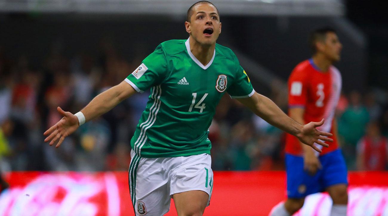 Chicharito ties Jared Borgetti's record for Mexico goals