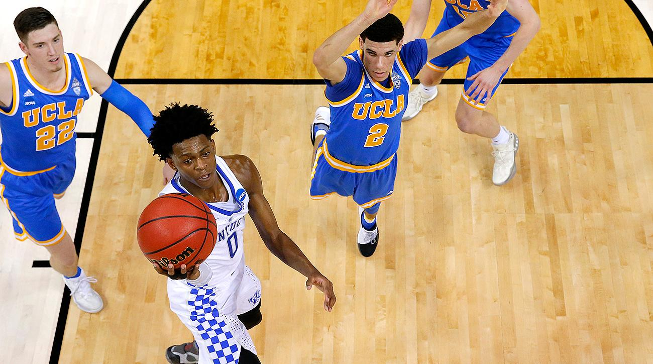 Best player in the National Basketball Association draft? De'Aaron Fox knows