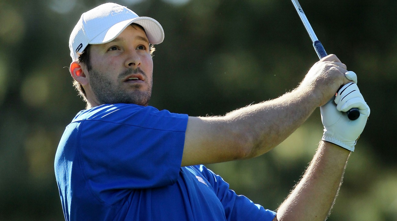 Tony Romo appears to have rejoined the 'offseason golf' mentality.