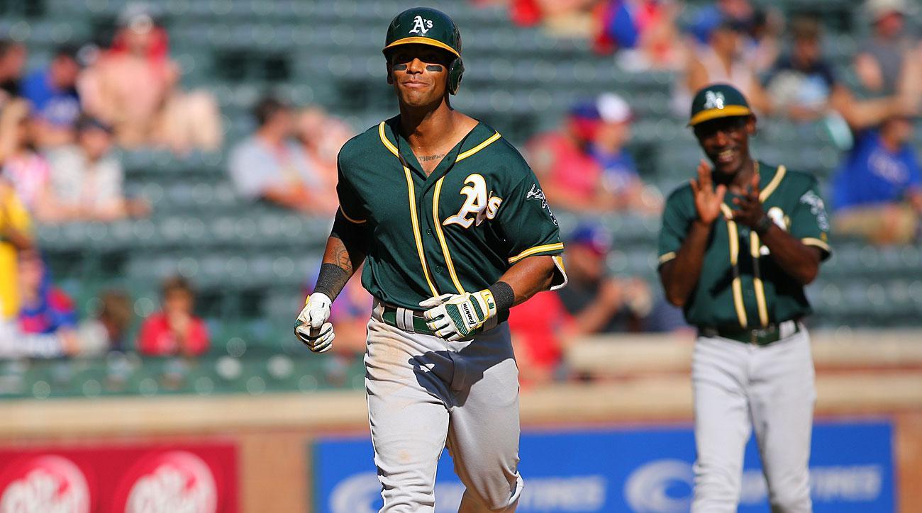 Khris Davis, Oakland Athletics