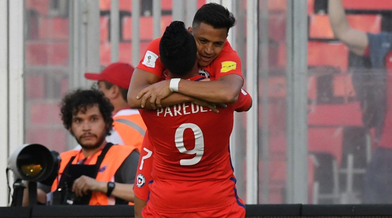 Alexis Sanchez was sensational for Chile vs. Venezuela in World Cup qualifying