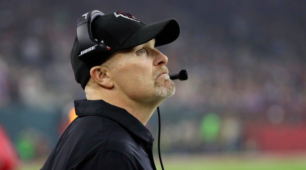 new product 5f4bb 64c16 Falcons Coach Dan Quinn Isn't Holding Back | SI.com