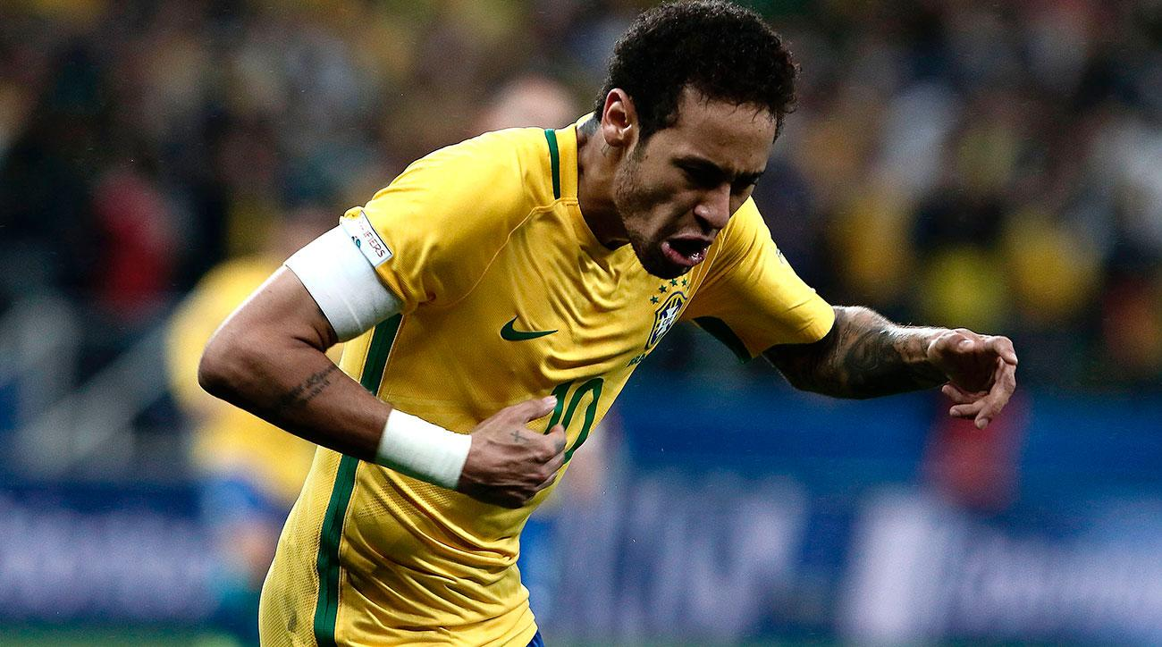 neymar goal brazil paraguay