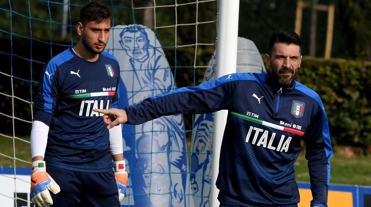 Between Gianluigi Donnarumma and Gianluigi Buffon, Italy is set at goalkeeper