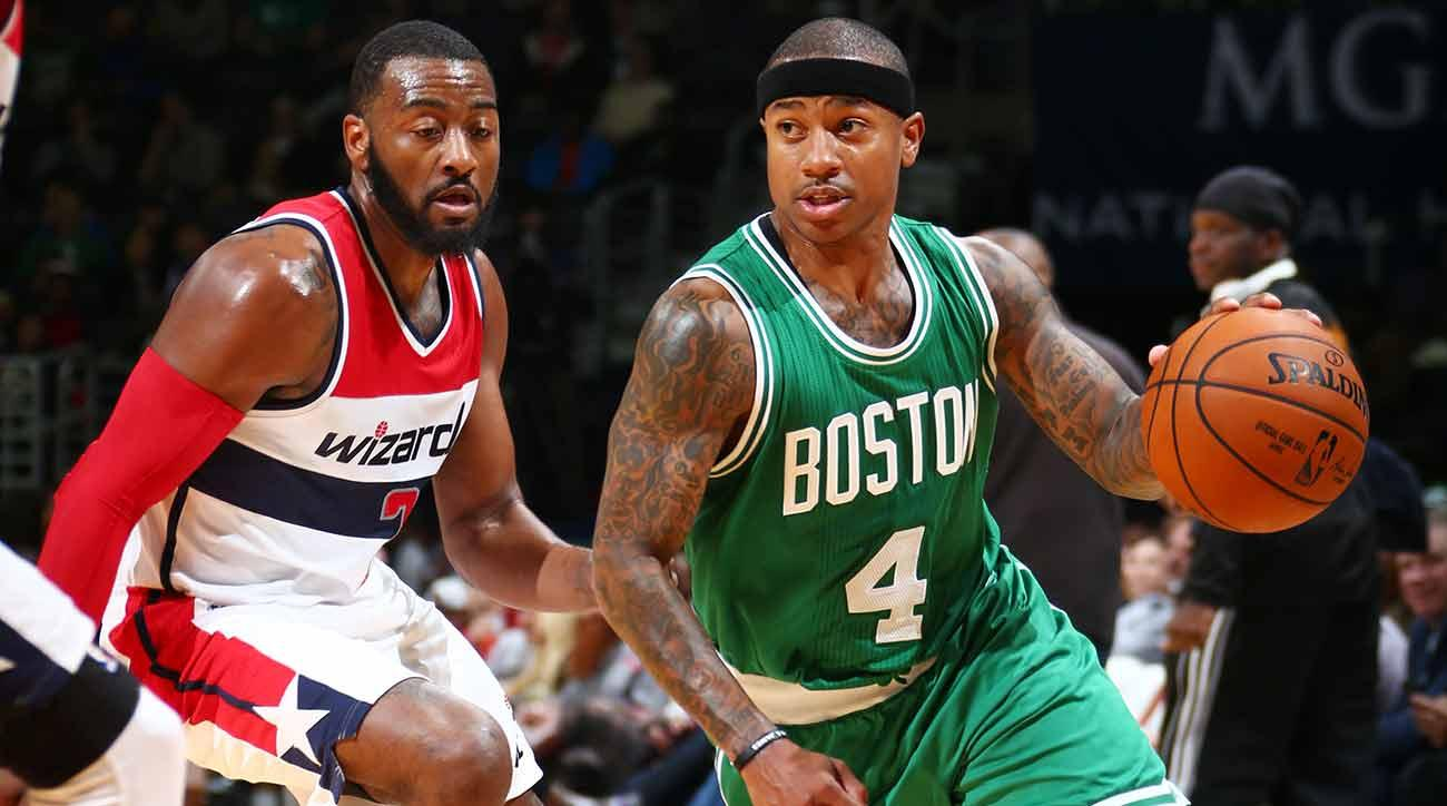 John Wall and Isaiah Thomas