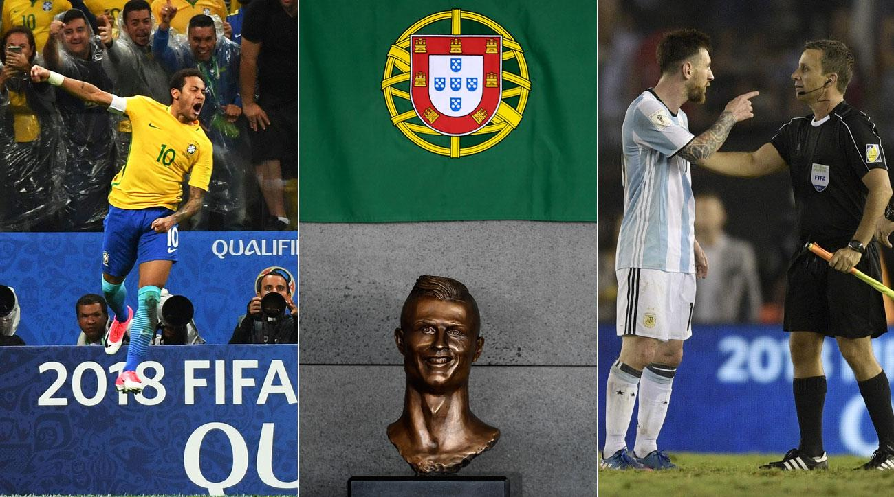 Neymar, Cristiano Ronaldo and Messi remained in the news in the March FIFA window