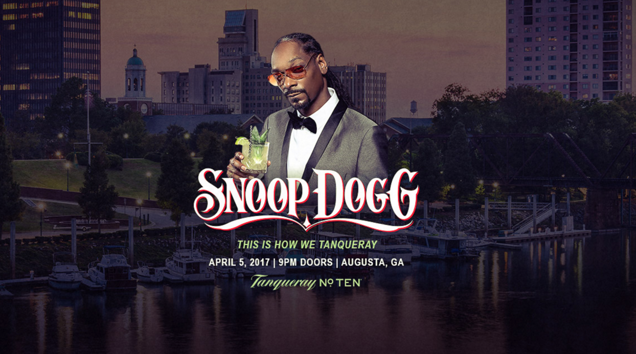 Snoop Dogg to headline 'Augusta Jam' during Masters week