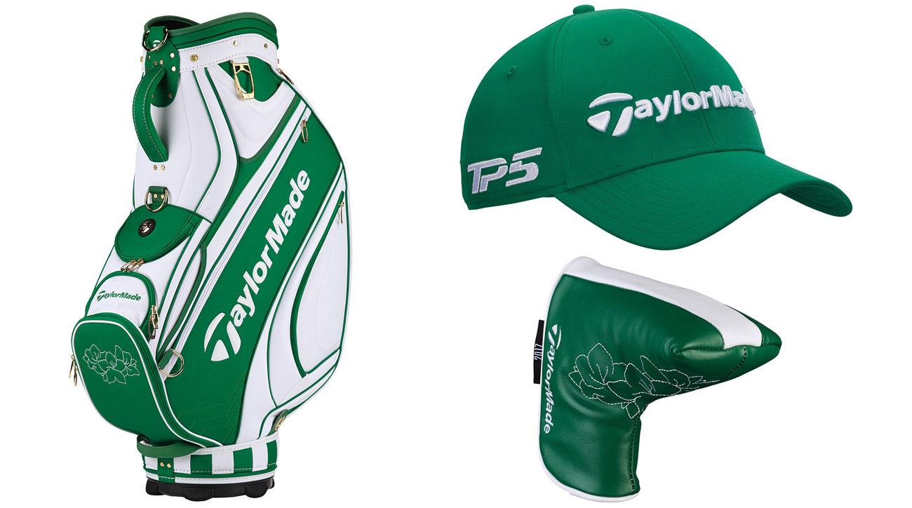 A look at some of the TaylorMade Masters-themed gear available.