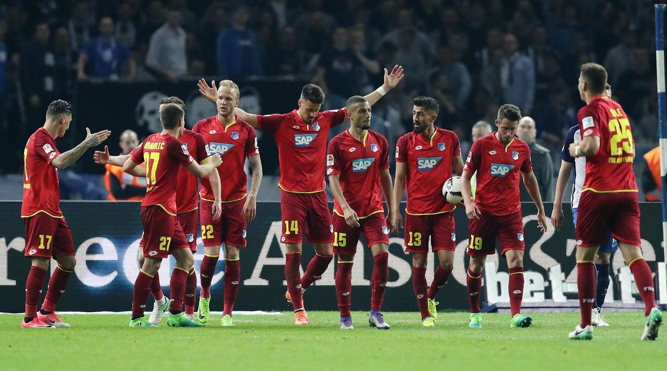 Hoffenheim beats Hertha Berlin in the Bundesliga