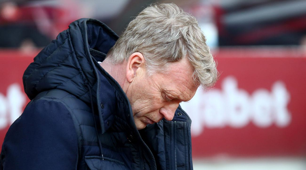 David Moyes jokingly told a female reporter for the BBC that she could get a slap