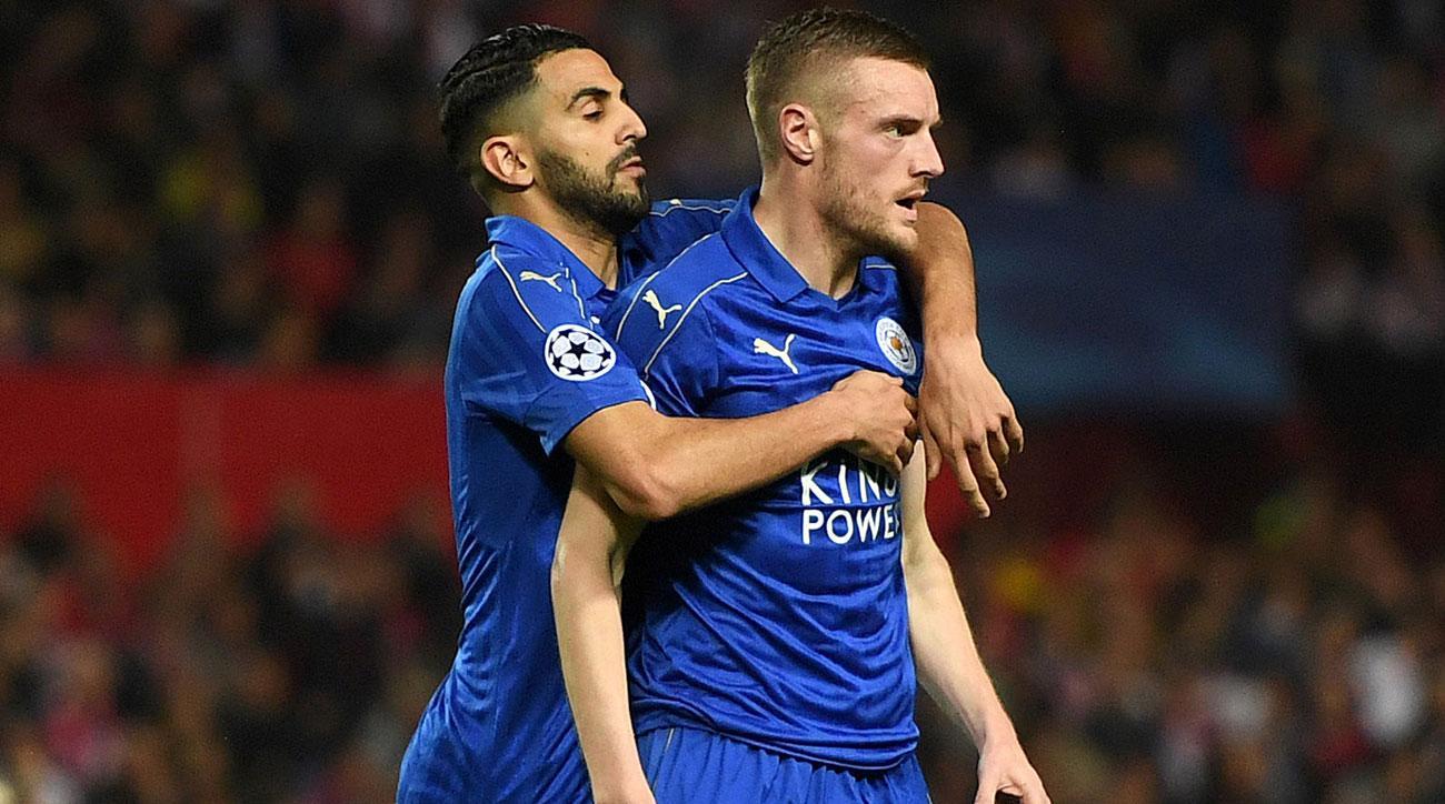Leicester City's Riyad Mahrez and Jamie Vardy could star vs. Sunderland