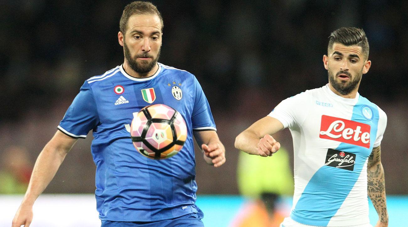 Gonzalo Higuain endured a quiet return to Napoli with Juventus