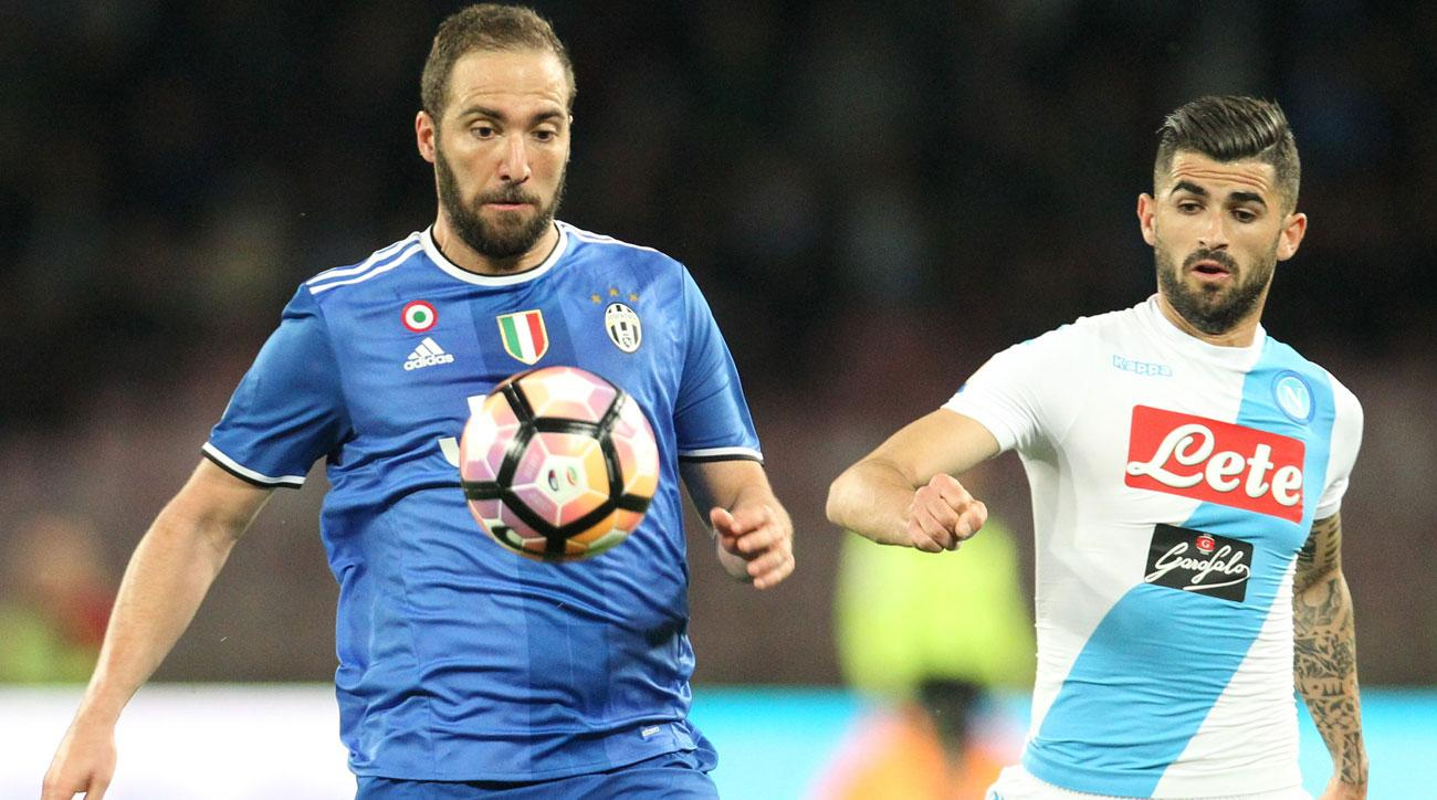 Gonzalo Higuain endured a quiet return to Napoli with Juventus