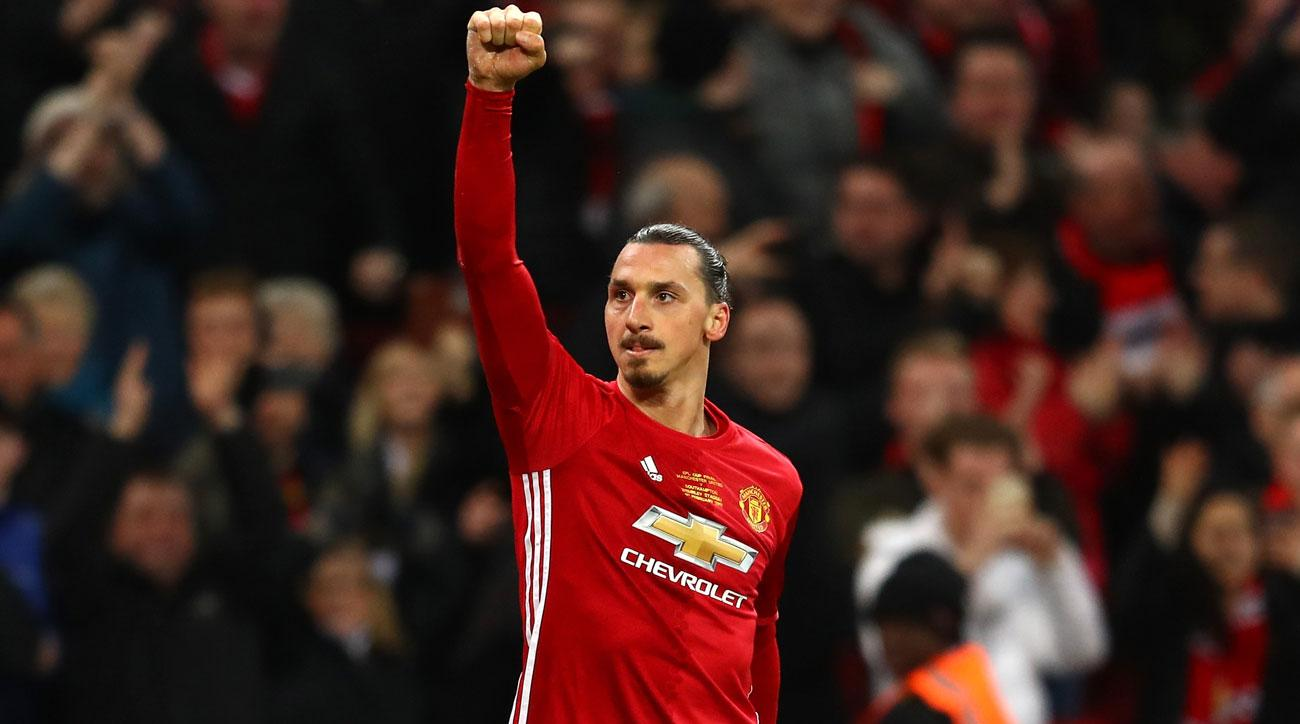 Zlatan Ibrahimovic has enjoyed a successful first season at Manchester United