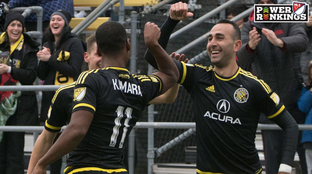 Columbus Crew SC has won three straight games in MLS
