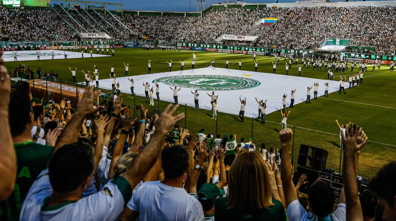 Chapecoense has returned to playing after the tragic plane crash decimated the club.