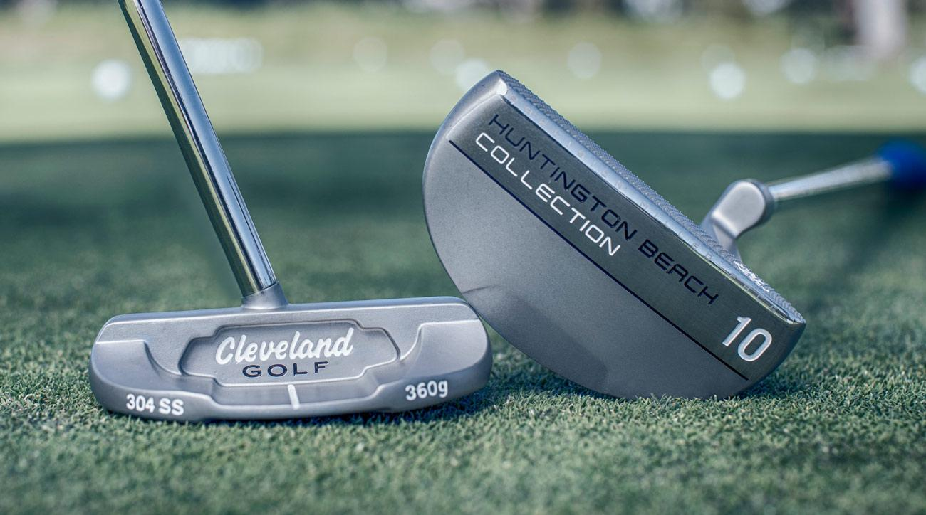 The new Cleveland HB 6C (left) and HB 10 putters.
