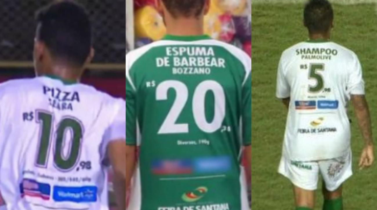Brazilian soccer team Fluminense de Feira has cool jersey ads | SI.com
