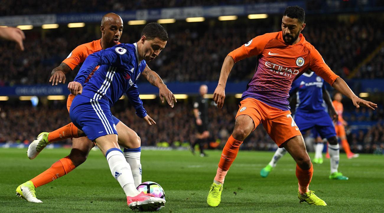 Eden Hazard starred for Chelsea vs. Manchester City