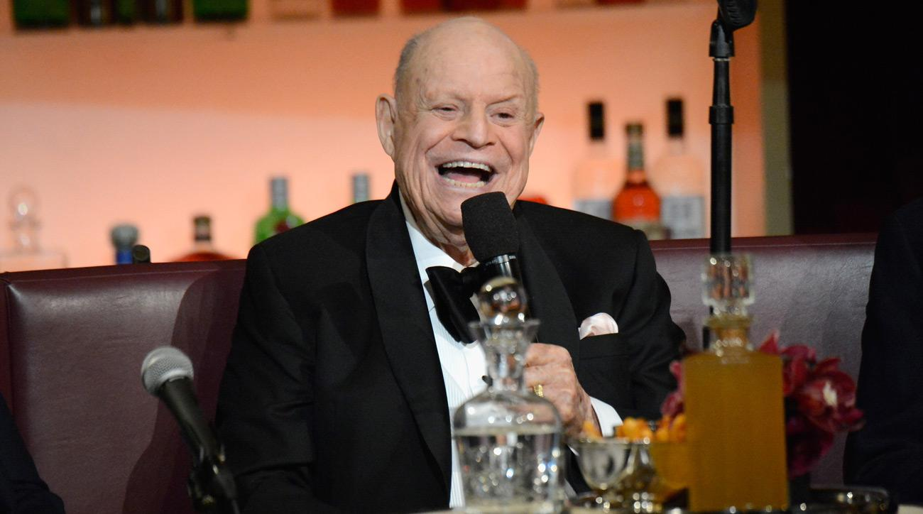 """Don Rickles speaks onstage at Spike TV's """"Don Rickles: One Night Only"""" on May 6, 2014 in New York City."""