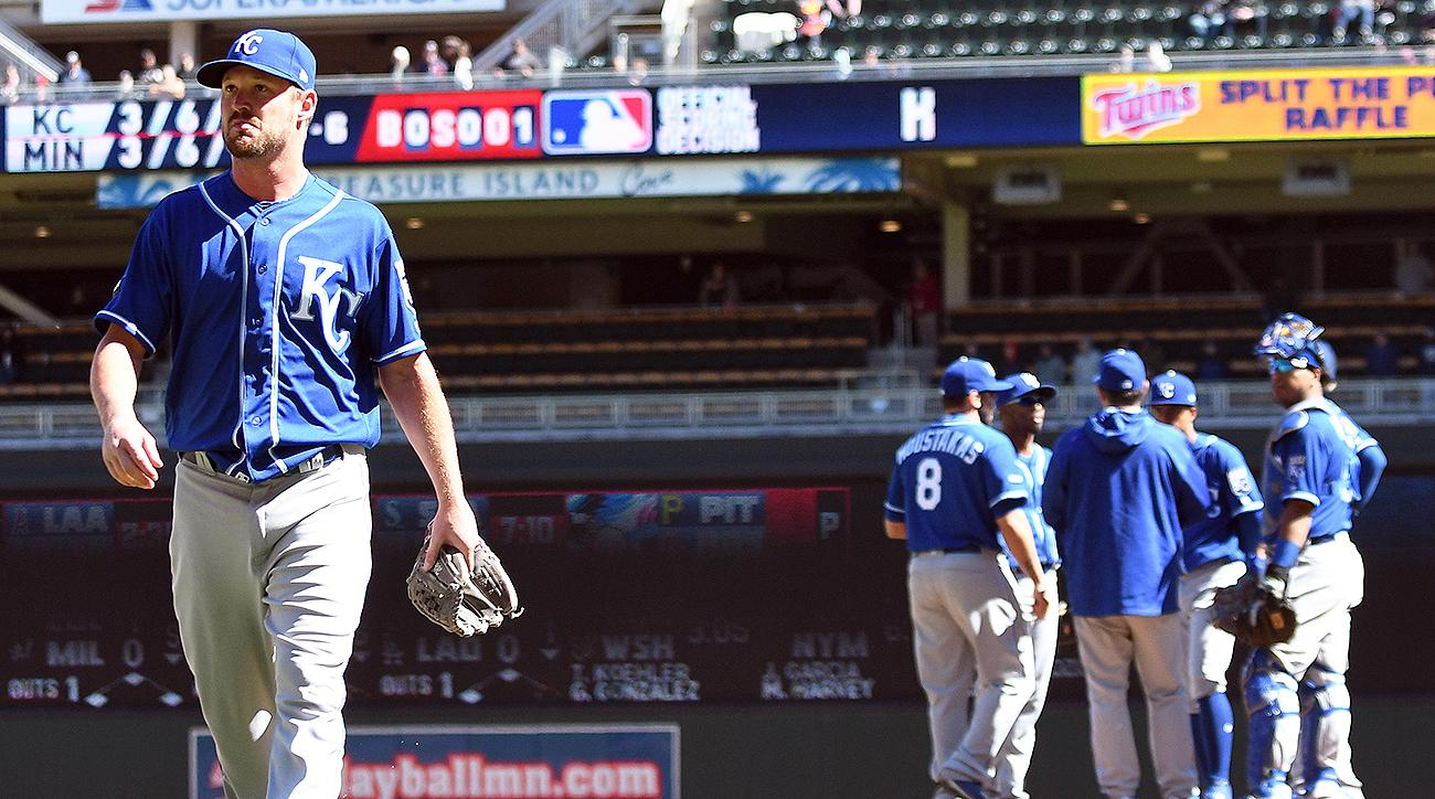 Kansas City Royals Travis Wood