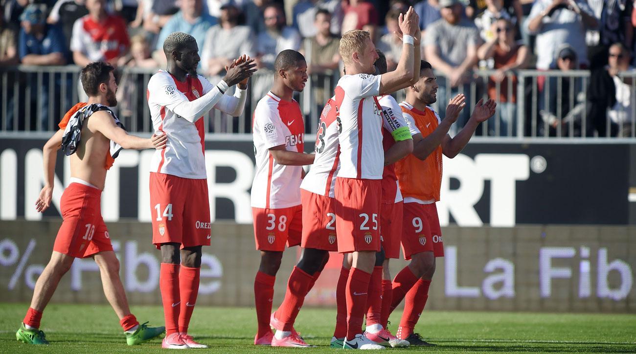 Monaco leads Ligue 1 and enters the Champions League quarterfinals vs. Dortmund
