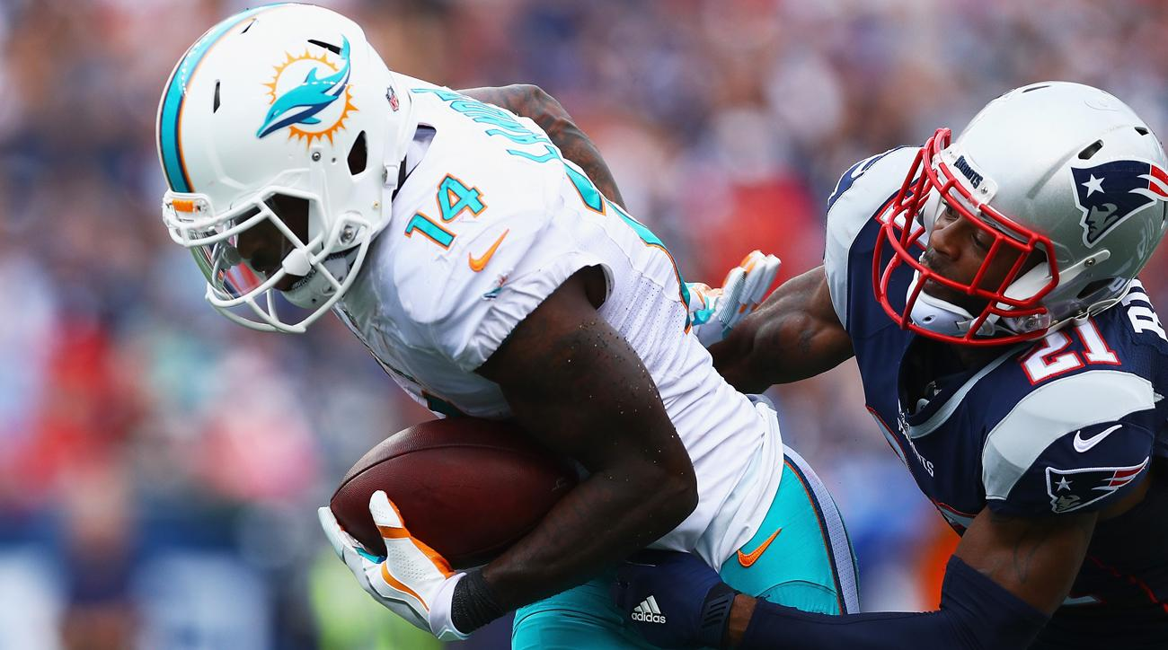 Miami wideout Jarvis Landry tied for seventh in the NFL with 94 catches last season.