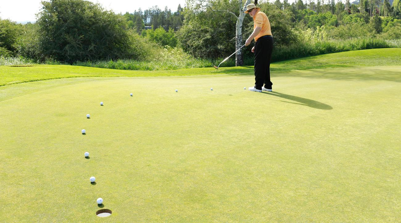 Lag putting properly can save you multiple strokes every round. Listen to Dave Pelz; he's the short game guru.