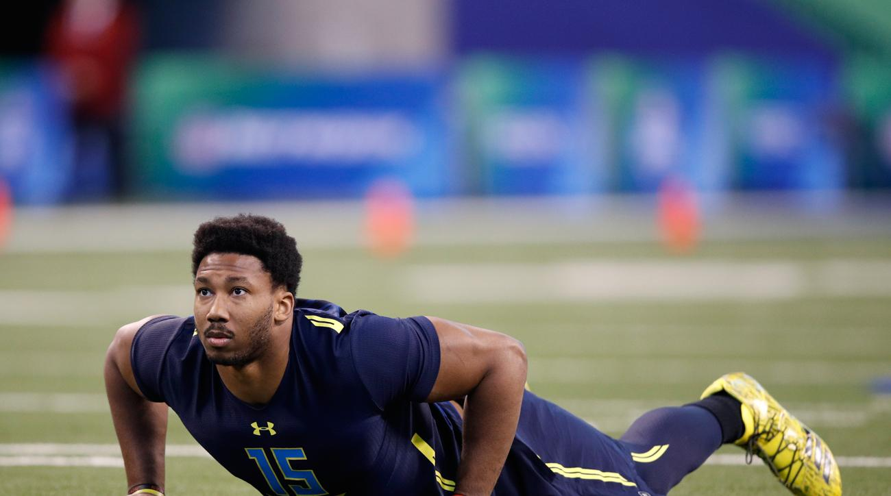 Observers have noted potential No. 1 draft pick Myles Garrett is as well-rounded off the field as he is on it.
