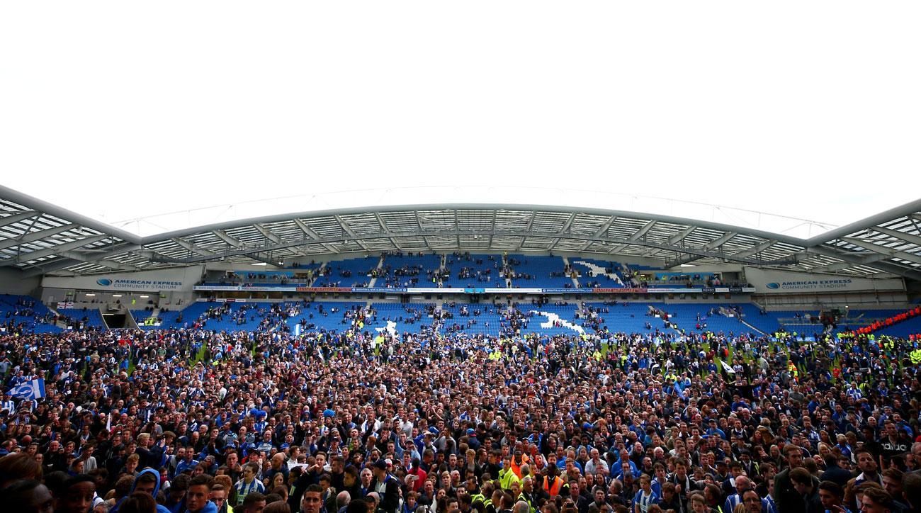 Brighton cements promotion to the Premier League