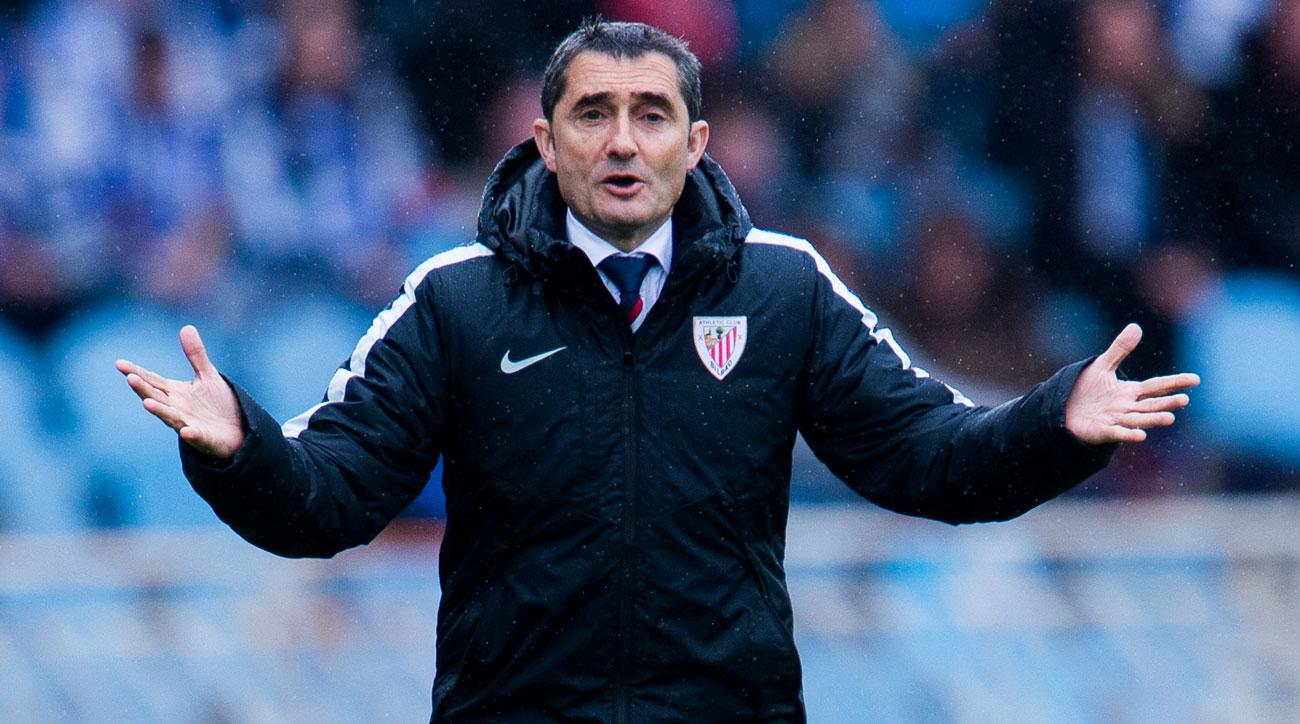 Ernesto Valverde could be on its way out of Athletic Bilbao