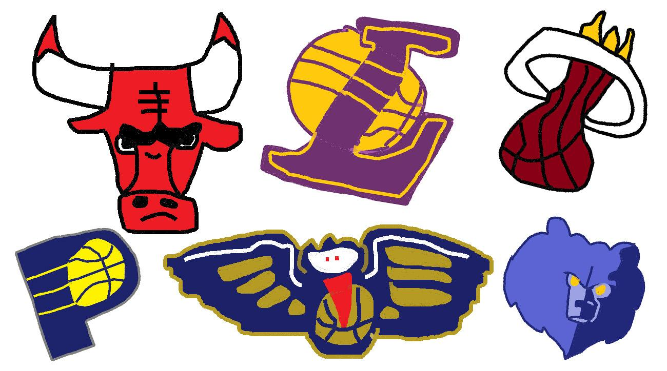 Nba Logos 2017 >> Nba Logos Drawn In Ms Paint All Teams Photos Si Com