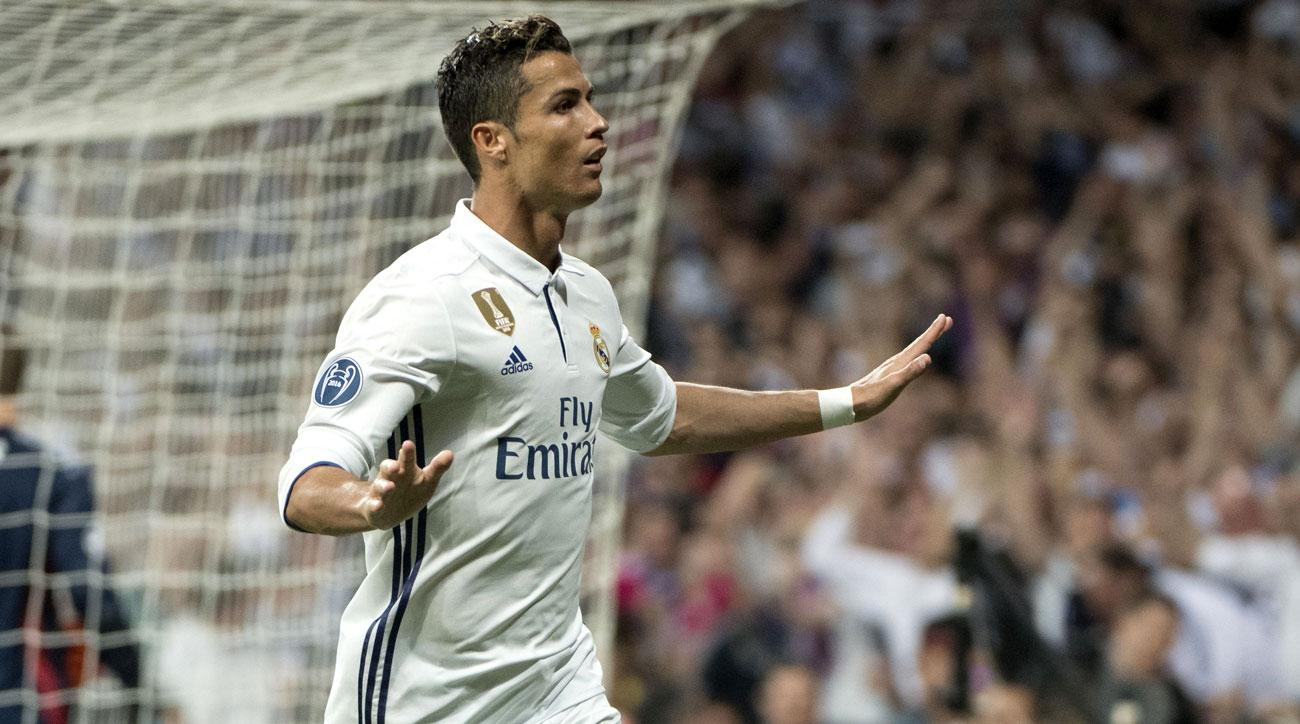 Cristiano Ronaldo scores in extra time for Real Madrid vs. Bayern Munich