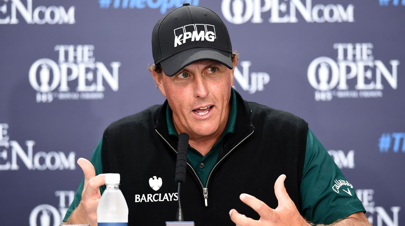 Phil Mickelson hosting a podcast? Sign us up immediately.