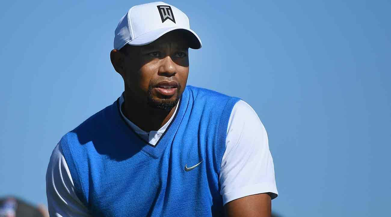 Speaking to the press on Tuesday, Woods didn't say when he would be back.
