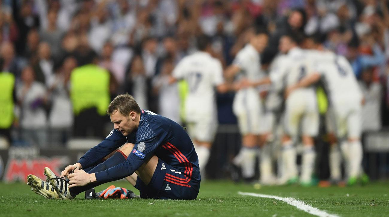Manuel Neuer Bayern Munich GK out for season with foot fracture