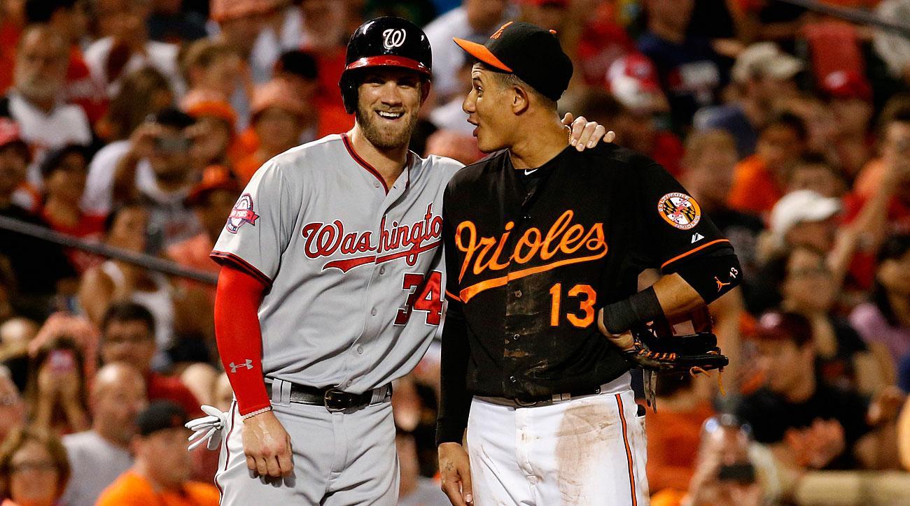 Bryce Harper, Washington Nationals; Manny Machado, Baltimore Orioles