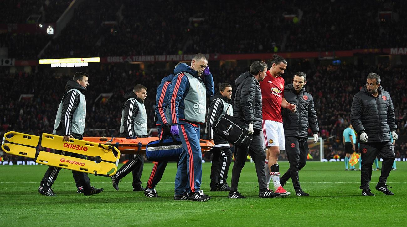 Zlatan Ibrahimovic knee injury could threaten United future