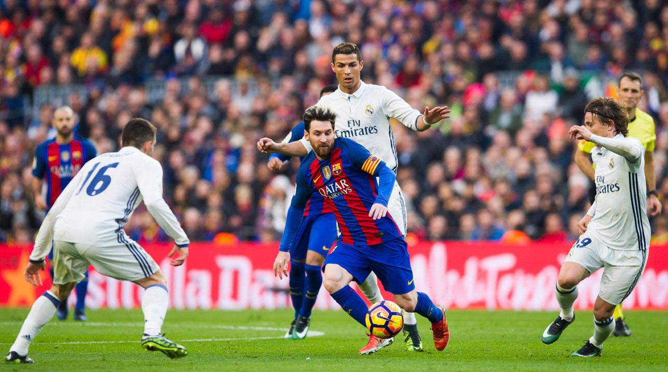 Barcelona meets Real Madrid in El Clasico