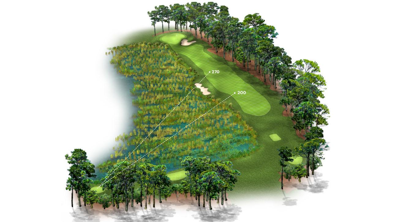 Play this hole -- and hundreds of others -- whenever you want! Visit fullswinggolf.com/golfmag