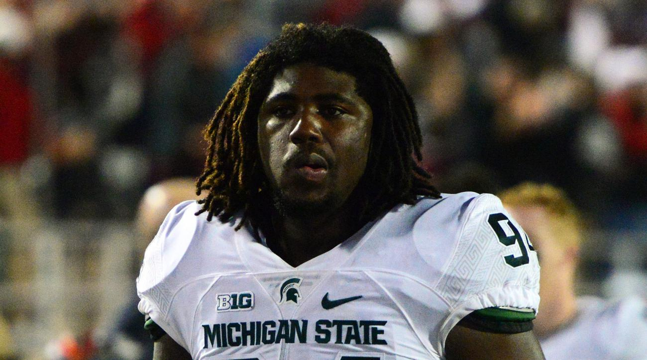 Michigan State University football player charged with a sex crime