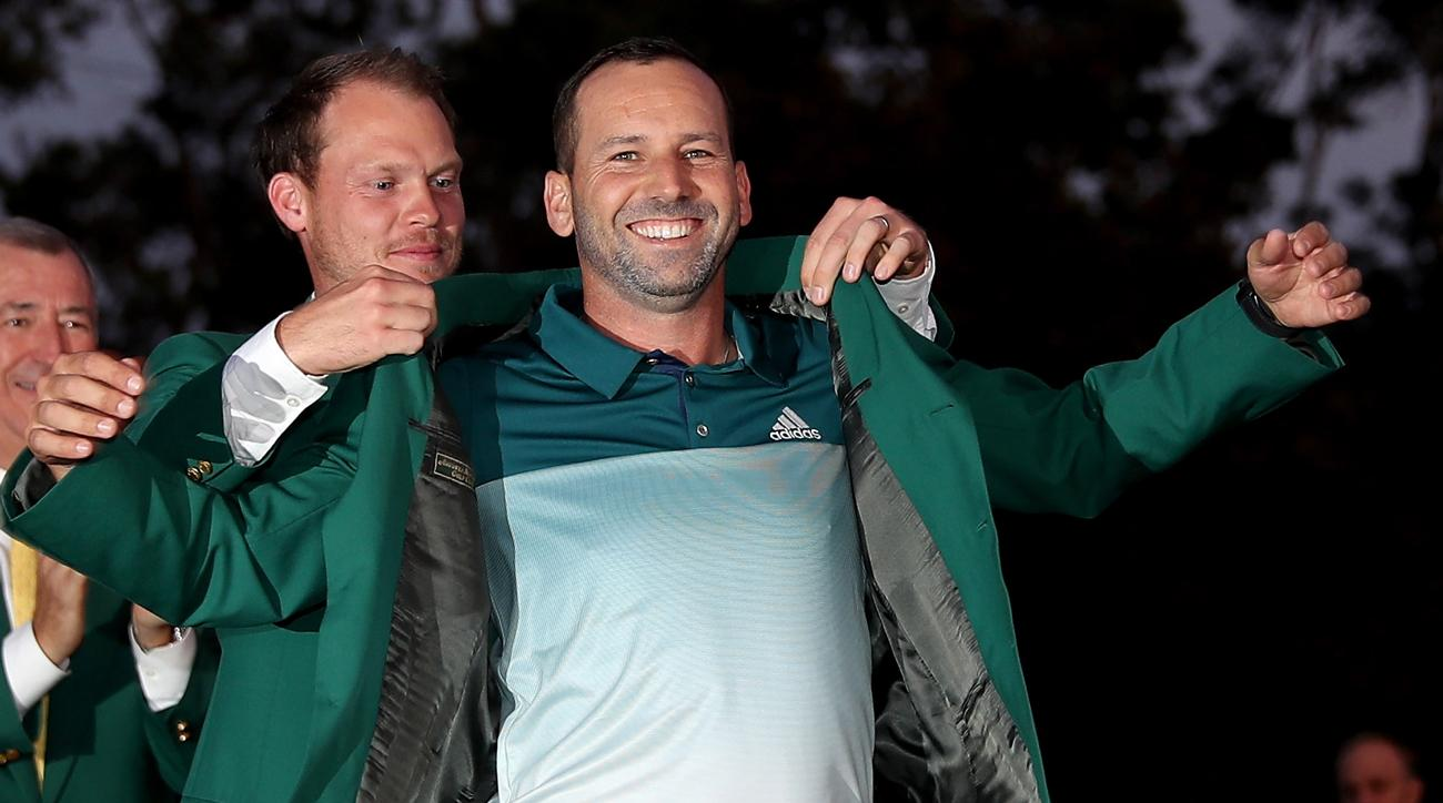 Sergio Garcia's next appearance with the green jacket will come as a fan of Real Madrid.