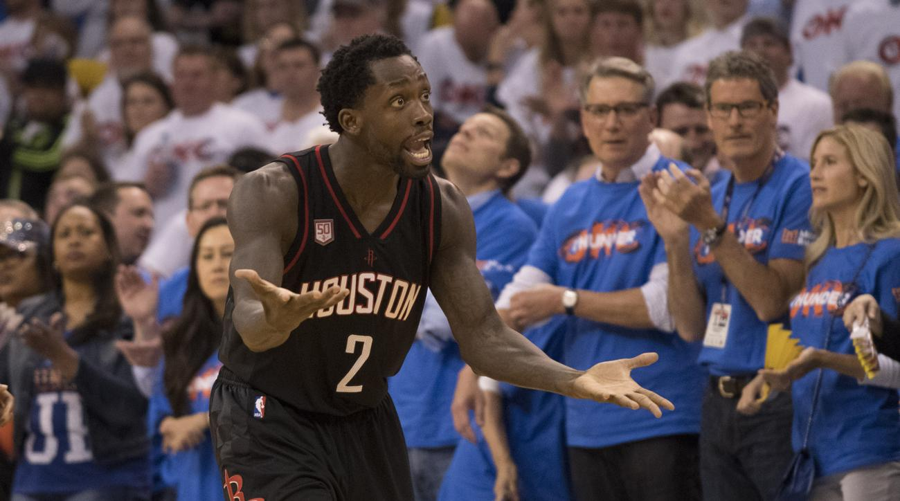 patrick beverley fan interaction thunder rockets