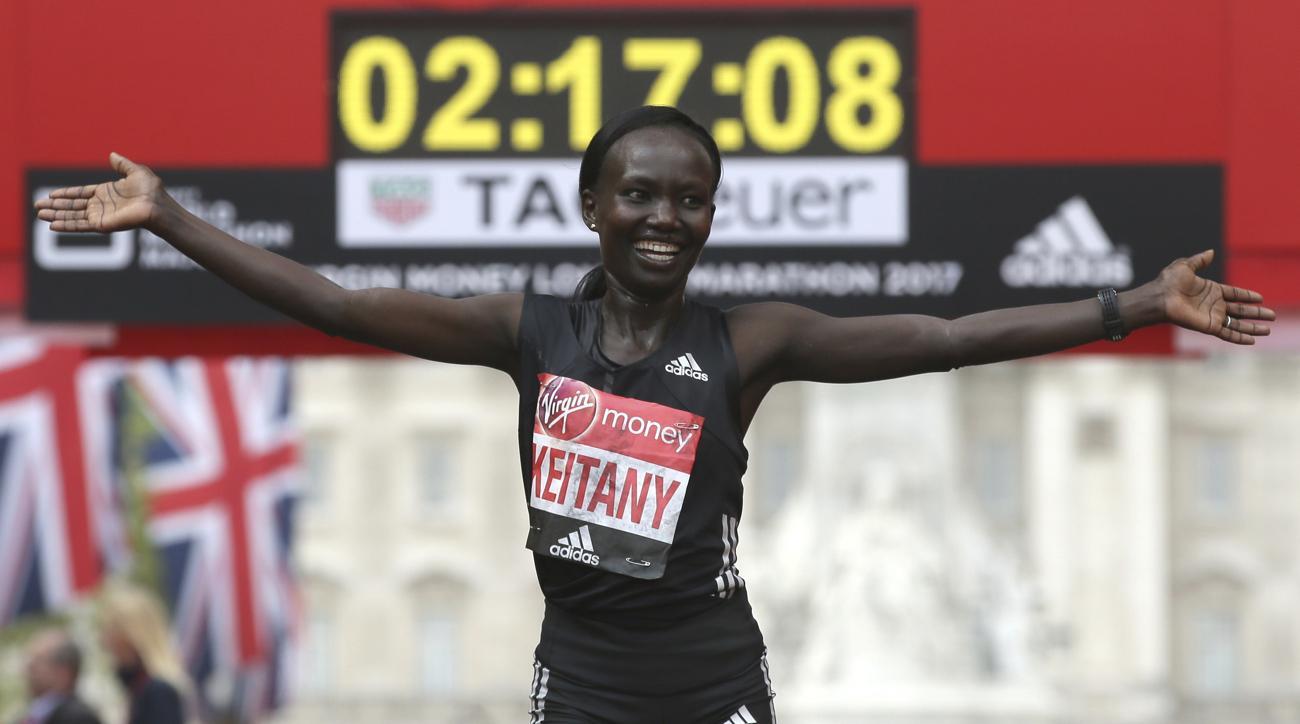 mary keitany world record